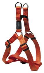 Rogz Utility Extra Large 25mm Lumberjack Step-in Dog Harness, Orange Reflective