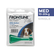 Frontline Plus Medium Dog 10-20kg single