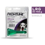 Frontline Plus Large Dog 20-40kg single