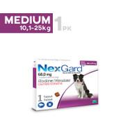 Nexgard Medium breed 10.1-25kg