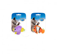 Duvo Cat Toy Assortment Fish 2pcs