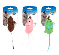 Duvo Cat Toy Assortment of Mice