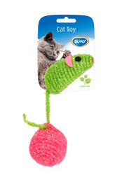 Duvo Cat Toy Nylon Mouse & Ball
