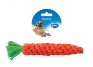 Duvo Dog Toy Cotton Rope Carrot (20cm)