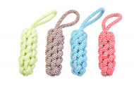 Duvo dog Toy Scooby Rope Stick with Loop