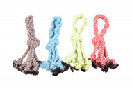 Duvo Dog Toy Scooby Rope Knot with loop