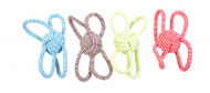 Duvo Dog Toy Scooby Rope Ball 4 Loops