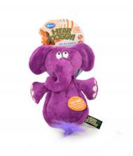 Duvo Dog Toy Heardoggy Plush Elephant
