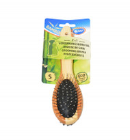 duvo bamboo 2in1 grooming brush sml