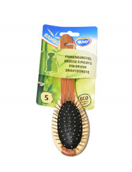 duvo bamboo pin brush sml