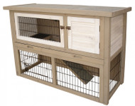 duvo woodland rabbit hutch cotton cottage