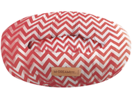 mpets tasmania round cushion red