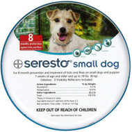 Bayer Seresto Collar Dog 0-8kg
