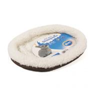 Duvo+ Small animal  Sheepskin bed oval  32 x 24cm