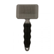 Duvo+ Beauty salon self cleaning slicker brush medium