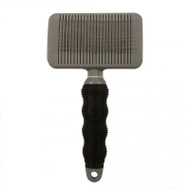 Duvo+ Beauty salon self cleaning slicker brush lrg
