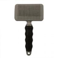 Duvo+ Beauty salon self cleaning slicker brush lrg