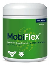 Palatable nutraceutical for dogs and cats containing chondroitin, glucosamine, MSM and GlycOmega™-PLUS Green Lipped Mussel (GLM) extract. Natural anti-inflammatory effect enhances mobility, eases stiffness and aids in the management, maintenance and repair of joints and cartilage.