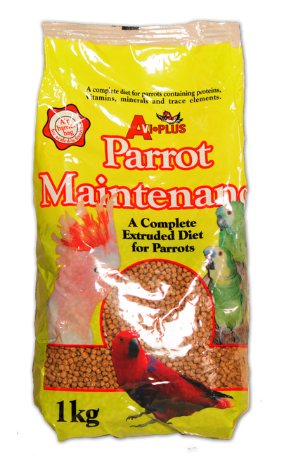A convenient pelleted complete diet for psittacines that are not breeding or feeding chicks. Perfectly balanced, this diet requires no additional feedstuffs, and so is ideal for quick and easy feeding. Top nutrition at your fingertips.