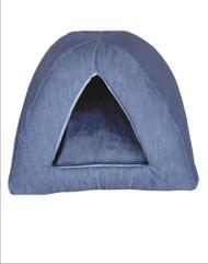 Cat Denim Camper Bed