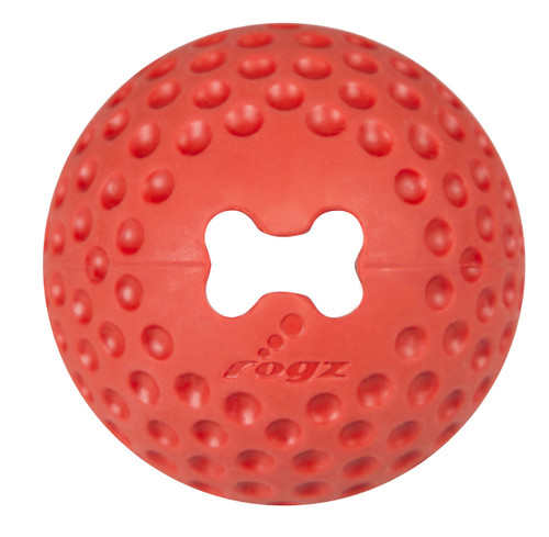 Wait until you throw one of these new Ballz for Fido! Bounce, fetch, treat - we've done it all. Tails will be wagging uncontrollably and excitement will be high. Just choose your favourite colour. Gumz Balls are soft enough not to hurt your dog's teeth but firm enough to bounce. Designed for dogs' teeth and to build up strength in their jaws, push treats into your Gumz ball and watch your pooch have hours of fun!