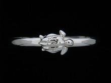 Silver 5mm Turtle Bracelet- Jana