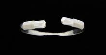 Silver 6mm Cuff Bracelet