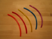 "1/4"" Fuel Line (Orange, Red, Yellow, Blue, Purple)  Price Per Foot"