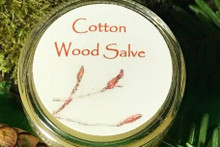 Cotton Wood Salve - 1/3oz