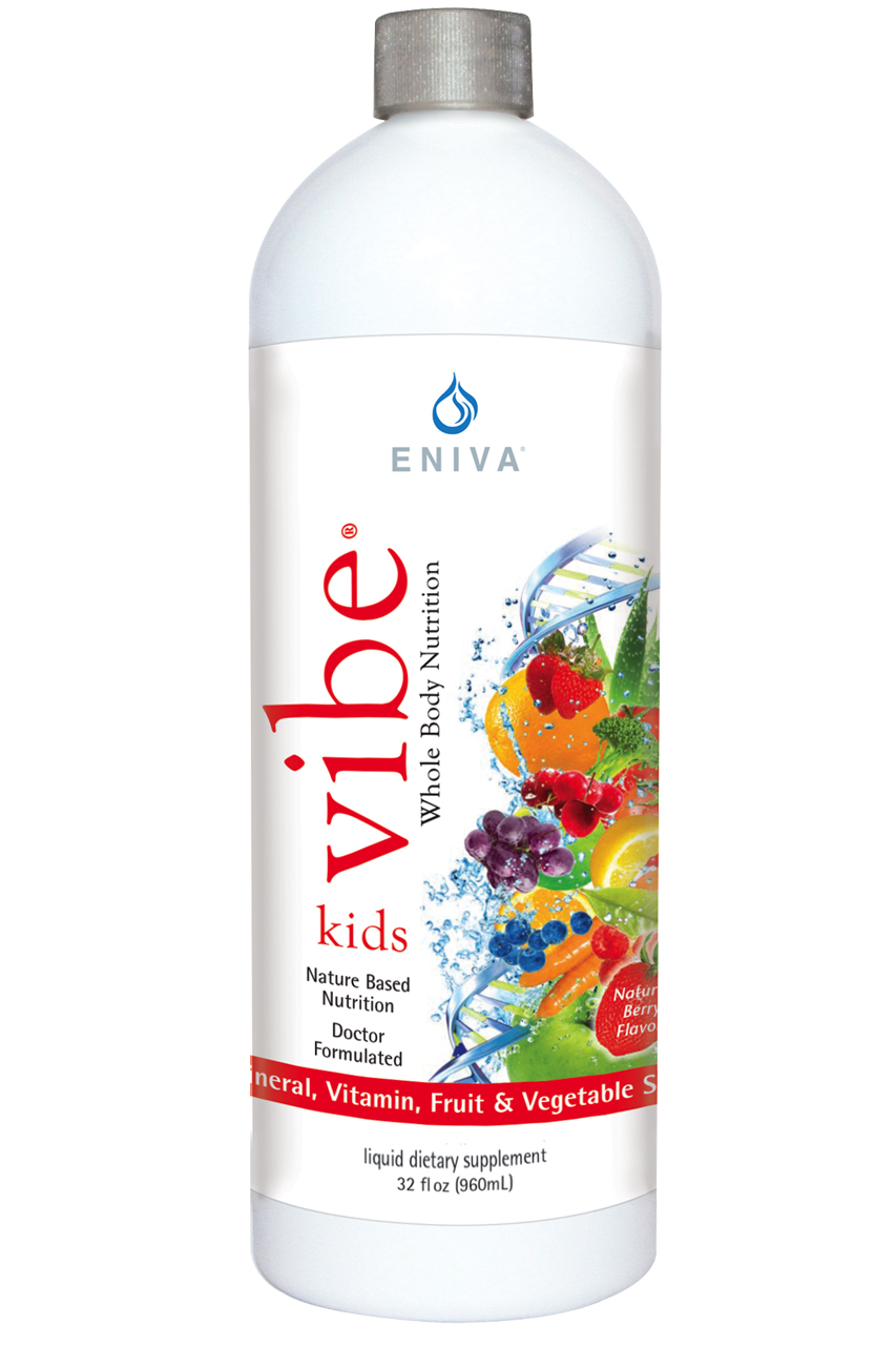 VIBE Kids liquid multi-vitamins