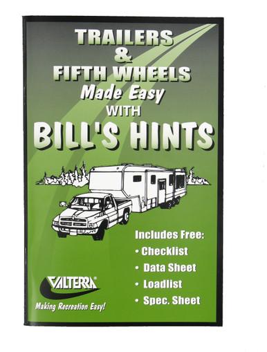 Bill's Hints booklet