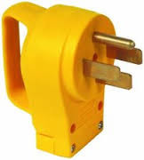 55255 50 Amp RV Male Replacement Plug