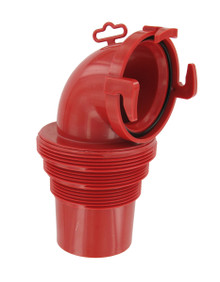 F02-3112  EZ COUPLER 90° BAYONET SEWER FITTING
