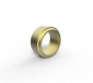 12MM OD TUBE NUT BRASS (X00381)