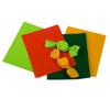 Honey Gold, Pistachio, Orange and Green