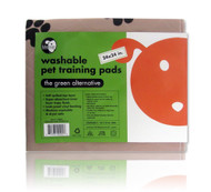 "2 - 24""x24"" Lola Bean Washable Puppy Pads"
