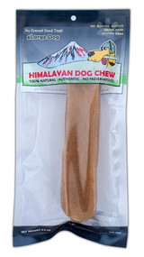 Himalayan Dog Chew - XLarge Pack 6oz bag with 1 pc per bag (3pks)