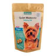 NaturVet Quiet Moments plus Ginger Soft Chews Bag 65 ct