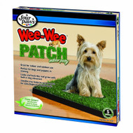 "Small Grass Pad (20"" Long x 20"" Wide) for Dogs up to 15 lbs"
