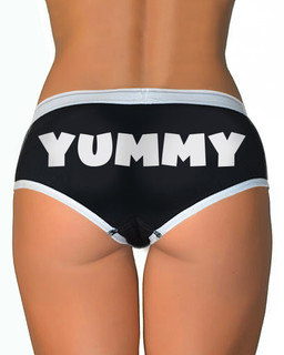 Yummy - Boy Brief Underwear Aesop Originals Clothing (Black)
