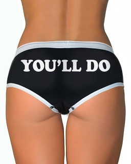 You'll Do - Boy Brief Underwear Aesop Originals Clothing (Black)