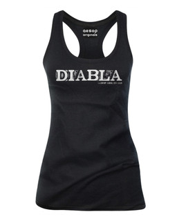 Diabla - Tank Top Aesop Originals Clothing (Black)