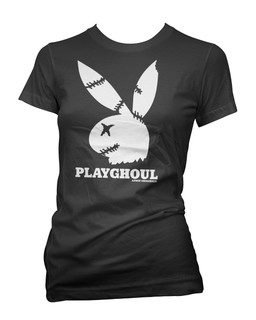 Playghoul Bunny - Tee Shirt Aesop Originals Clothing (Black)