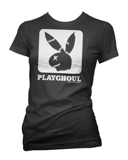 Playghoul Bunny Cube - Tee Shirt Aesop Originals Clothing (Black)