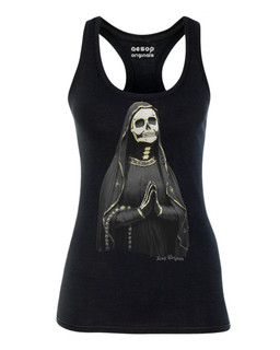 The Golden Ghost - Tank Top Aesop Originals Clothing (Black)