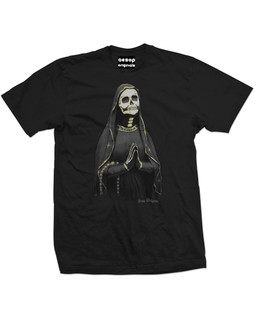 The Golden Ghost - Mens Tee Shirt Aesop Originals Clothing (Black)