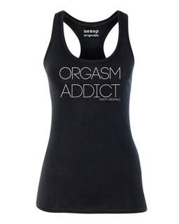 Orgasm Addict - Tank Top Aesop Originals Clothing (Black)