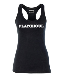 The Playghoul - Tank Top Aesop Originals Clothing (Black)
