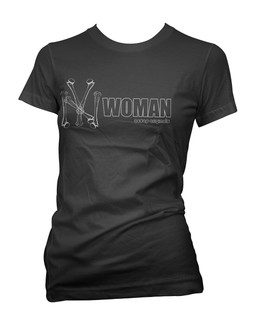 New York Woman - Tee Shirt Aesop Originals Clothing (Black)