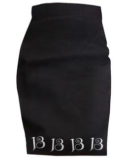 13 Thirteen - High Waisted Pencil Skirt Aesop Originals Clothing (Black)